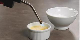 Crème Brûlée - karamelizace plamenem