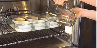 Crème Brûlée- horká vodní lázeň